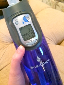 HydraCoach Intelligent Water Bottle