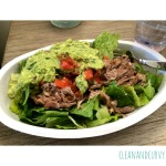 Salad bowl from Chipotle