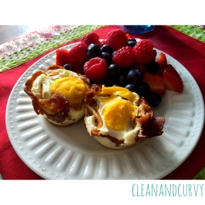 Berries with Egg McNuthins